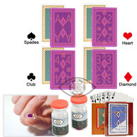 Angel Playing Cards Magic Poker Perspective Glasses Poker Cheat Marked Cards Anti Gamble Cheat Perspective Magic Cards