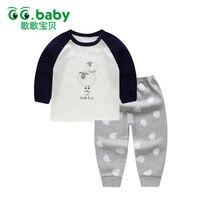 2pcs Set Tshirt Shorts Cotton Baby Clothing Set Newborn Baby Outfits Girl Boy Kids Clothes Sets