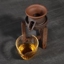 цена на PINNY Taste Stone Mill Tea Strainers Ceramic Hand Made Tea Leaf Spice Filter Retro Kung Fu Tea Set Chinese Tea Service