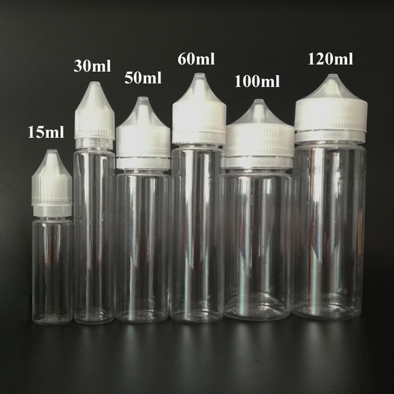10pcs Empty Bottles PET Long Pen Shape Plastic Dropper Bottle 10ml 15ml 30ml 60ml 100ml 120ml Clear E liquid E juice Bottles цена