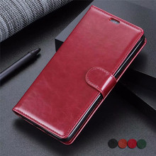 Wallet Case For LG G8 ThinQ Flip Vintage PU Leather Business Book CASE for lg q8 thinq Protection Card Coque Fundas Shell case