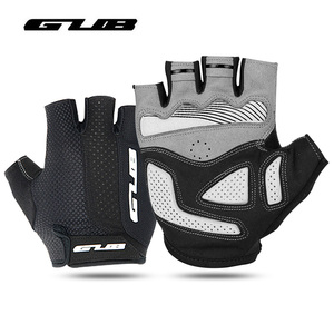 GUB Men Women Bicycle Gloves Half Finger Cycling Gloves Anti Slip Gel Pad Breathable Motorcycle MTB Road Shockproof Bike Parts