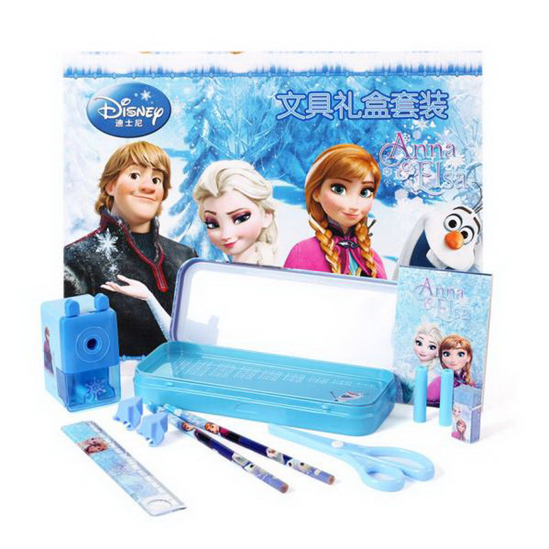 160903-1/Disney Stationery gift box 12 sets of gift packs boys primary school supplies/Student study supplies set сувениры металл лондонский автобус