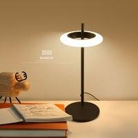 Винтаж Новинка покрытием складной настольная лампа ретро Лофт светодио дный свет стол Lamparas де читальный зал чугуна освещение Abajur Luminaria E27