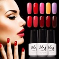 BILING Gel Nail Polish UV Gel Polish Long-lasting Soak-off LED UV Gel Color Hot Nail Gel 6ml/Pcs Nail Art Tools