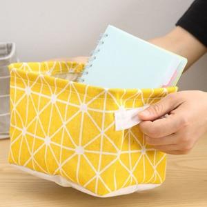 Image 5 - Estilo nórdico roupas treliça saco de armazenamento dobrável armário organizador para travesseiro colcha cobertor colcha saco