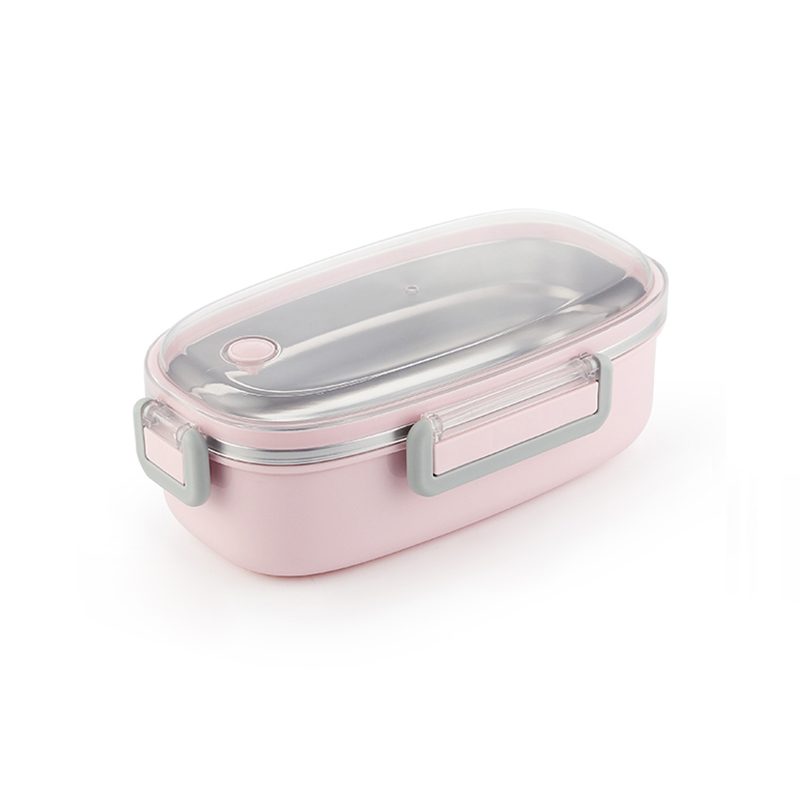 TUUTH Cute Lunch Box Stainless Steel Dinnerware Food Storage Container Children Kids School Office Portable Bento Box B7