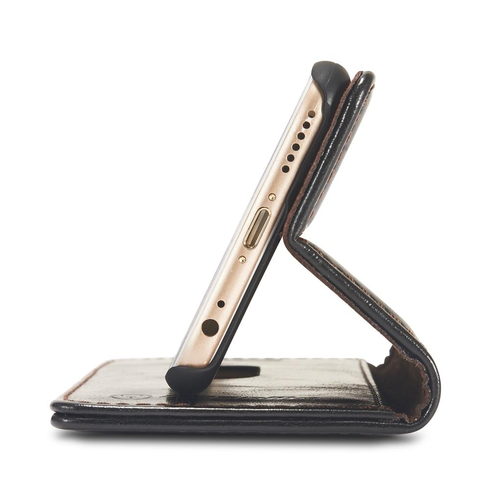 İPhone 6S 6 5S PU dəri üçün yumşaq silikon cüzdan örtüyü, - Cib telefonu aksesuarları və hissələri - Fotoqrafiya 4
