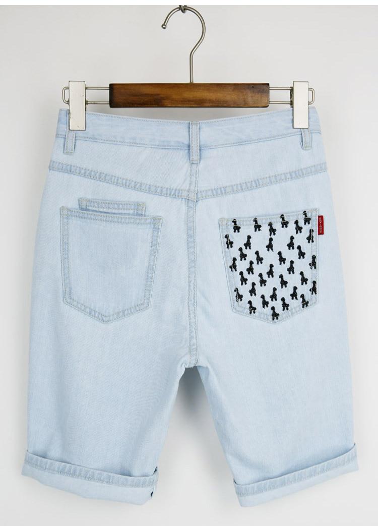 Aliexpress.com : Buy 2017 women short jeans woman White ripped ...