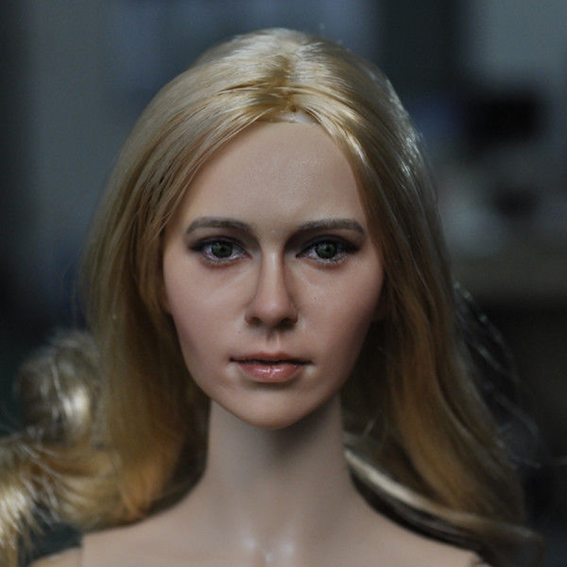 ФОТО New 1/6 Scale CG CY Sexy Female KM15-31 PVC Head Sculpts Models Toys For 12