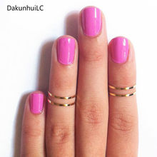 2pcs New Fashion Alloy Accessories Copper Ring Beautiful and Lovely Women Polished Jewelry Wholesale Factory Direct 2019(China)