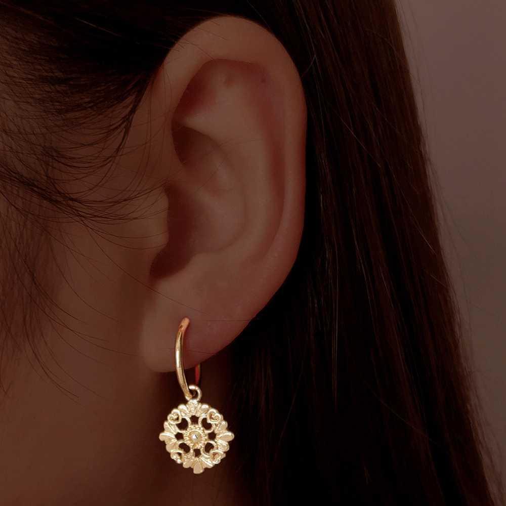 1 par 2019 nova chegada artilady brincos sem fim para as mulheres cartilagem cruz coração brinco charme jóias presente