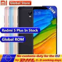 Original Xiaomi Redmi 5 Plus 32GB ROM 3GB RAM Snapdragon 625 Octa Core Mobile Phone 5