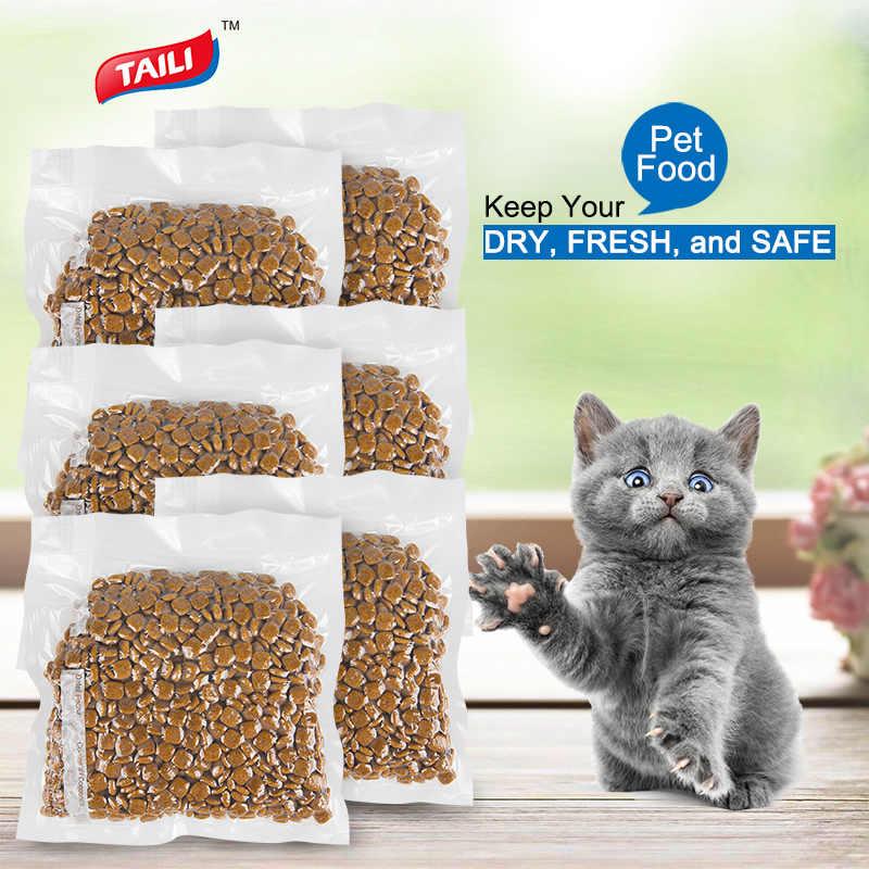 10 pçs saco de vácuo para alimentos aferidor do vácuo sacos de plástico zip saco manter alimentos frescos reutilizável saco de vácuo