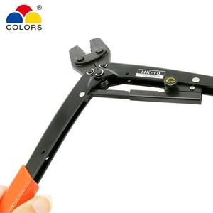 Image 5 - HX 10 обжимные плоскогубцы для неизолированных клемм (шестигранного типа) японский стиль емкость 1,5 10 мм2 15 7AWG электрические инструменты