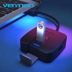 Vention USB HUB عالية السرعة 4 منافذ USB 3.0 المحور المحمولة وتغ محور USB المحور الفاصل ل أبل ماك بوك اير محمول PC اللوحي