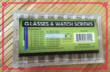 Hot Watches Eye Glass Screws 900 Assorted Micro Glasses Storage Case Repair Watch