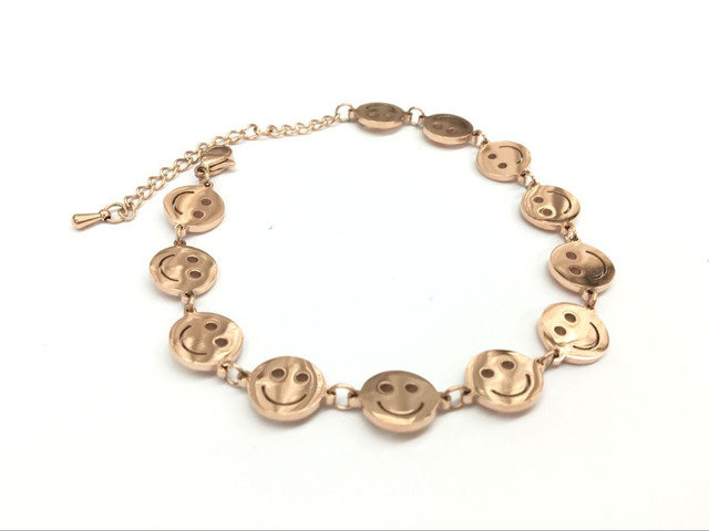 2017 alibaba express hot sale smiley face bracelets for women men