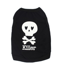 Skull Vest T-Shirt Apparel Clothes