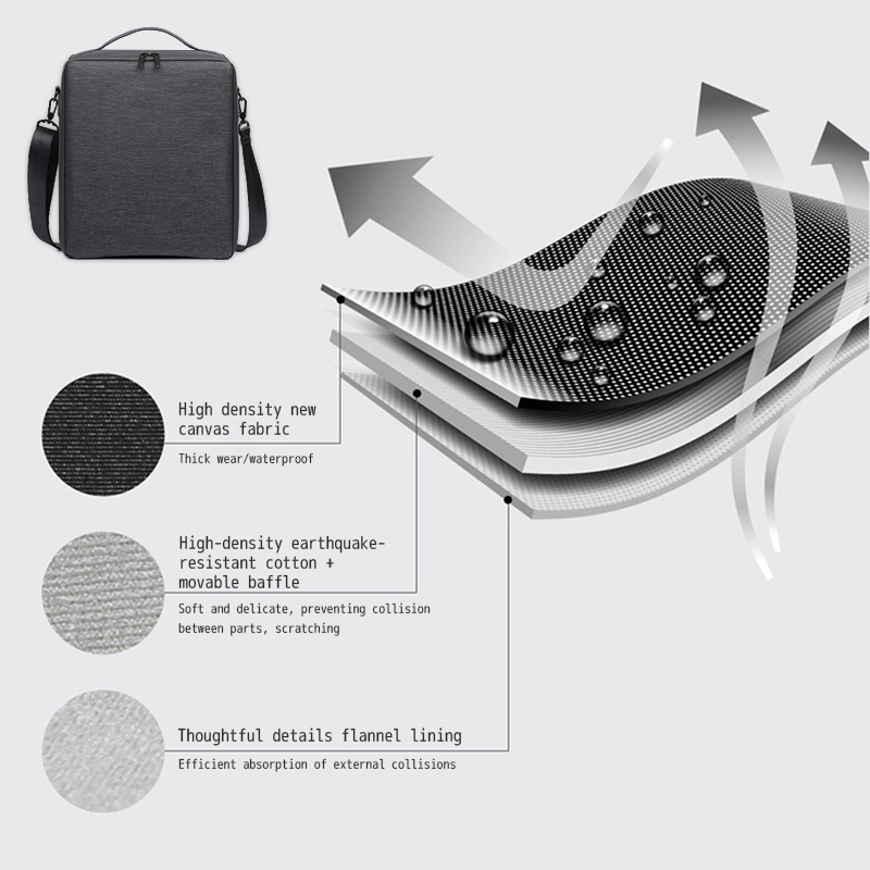 Dslr saco da câmera digital mochila respirável