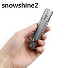 snowshine2#2001 Bicycle Accessories 7W 2017 Q5 LED 1200lm Mini Flashlight Torch Light 14500/AA Lamp Waterproof free shipping