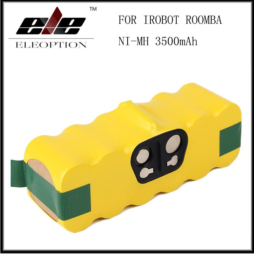 ELEMENTOS ELEOPTION 14.4 v 3500 mah Bateria Ni-MH Para iRobot Roomba 500 510 530 532 534 535 540 550 560 562 570 580 600 610 700 760 770