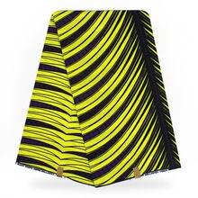 2ffcd5f07d280 african fabric hollantex prints Purple Yellow Stripe pattern african wax  print fabric for wholesale wedding dresses