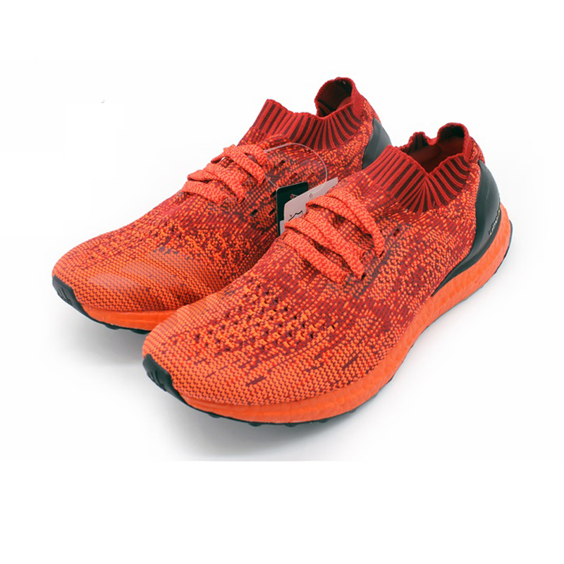 Adidas Ultra Boost Uncaged Mens Running Shoes ,Original Sports Outdoor Sneakers Shoes,Red ,Damping Packaged Light BB4678