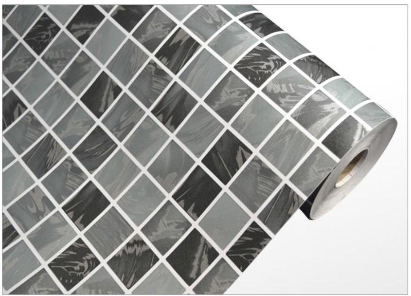 Freies Verschiffen Wasserdicht Mosaik Wandaufkleber PVC Selbstklebende  Kreative Mosaik Fliesen Tapete Für Küche/bad DPS 27 In Freies Verschiffen  Wasserdicht ...