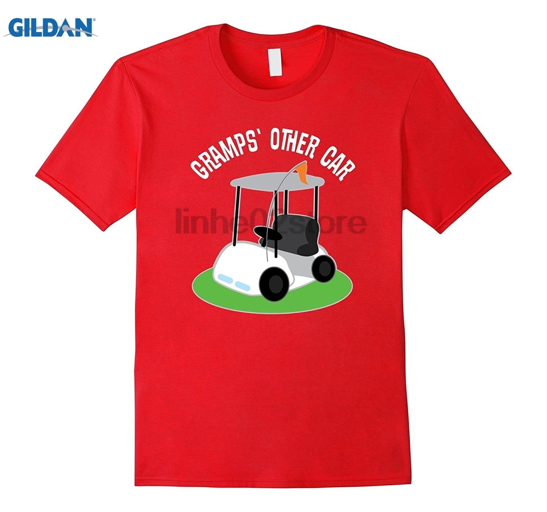 GILDAN Gramps Golfing T-shirt Funny Grandpa Cart Tee Womens T-shirt