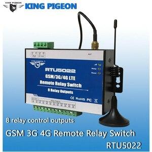Image 3 - GSM מרחוק ממסר מתג SMS מעורר שליטה על ידי SMS APP טיימר לרחוב אור משאבת שליטה עם 8 יציאות ממסר RTU5022