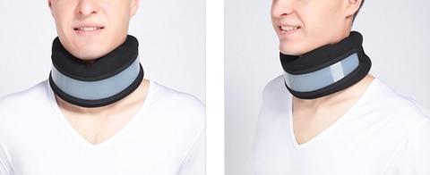 dispositivo de tracao cervical pescoco suporte para casa ferramenta de cuidados de escritorio correcao fixa
