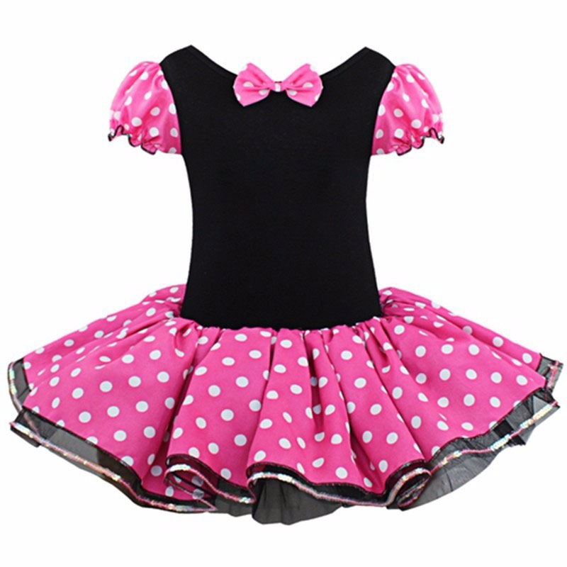 Girls Dresses Minnie Mouse Party Fancy Costume Cosplay Girls Ballet ...