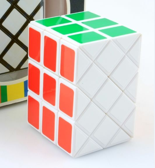 Brand New Diansheng Long Brick Case 3x3x3 Magic Cube Ancient Double Fish Cube Speed Puzzle Cubes Educational Toy Special ToysPuzzles & Games