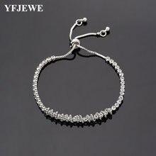 Женский браслет в римском стиле yfjewe с кристаллами Подарочные