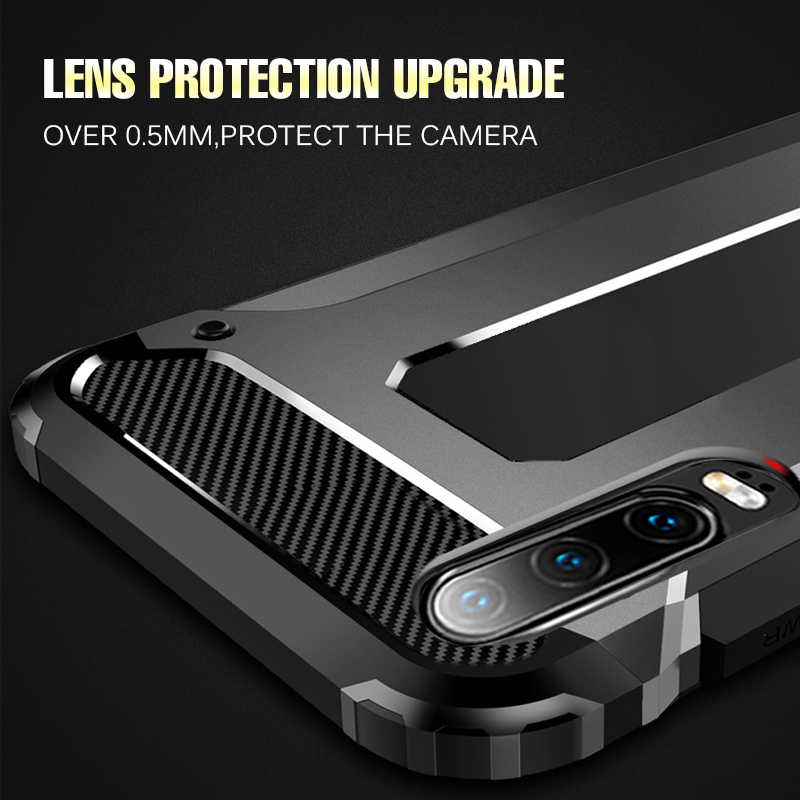 Luxury Shockproof Armor Case Cover On For Huawei P30 P8 P9 P10 Mate 20 10 P20 Lite Case For Huawei P30 P20 Pro Bumper Soft Case