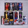 "Titan Hero Series Avengers Superheroes PVC Action Figures Toys 12"" 30cm Venom Iron Man Wolverine Darth Vader Green Goblin"