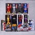 """Titan hero série super-heróis vingadores ação pvc figuras brinquedos 12 """"30 cm iron man wolverine darth vader veneno verde goblin"""