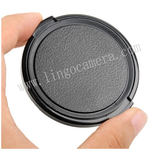 77MM Sides Pinch Snap-On Front Lens Cap f Canon Pentax all camera Sony Nikon