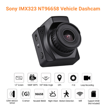 WonVon Mini Portable Full DH 1080P Car DVR Dash Cam Driving Recorder G-sensor Vehicle Video Registrator Night Vision