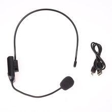 Auriculares inalámbricos con micrófono FM para amplificador de voz, megáfono, Radio, altavoz para enseñanza, Guía de viaje, reuniones