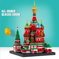 4300pcs church House City Building Blocks Compatible With LegoINGs DIY Decoration Child education