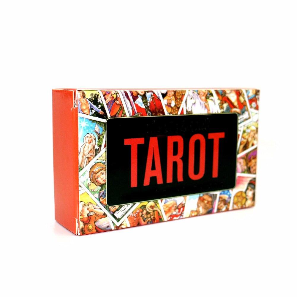 2018 Nuevo Tarot tarjetas cubierta, leer el mítico destino juego