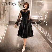 Женское кружевное платье it's yiiya длинное облегающее вечернее