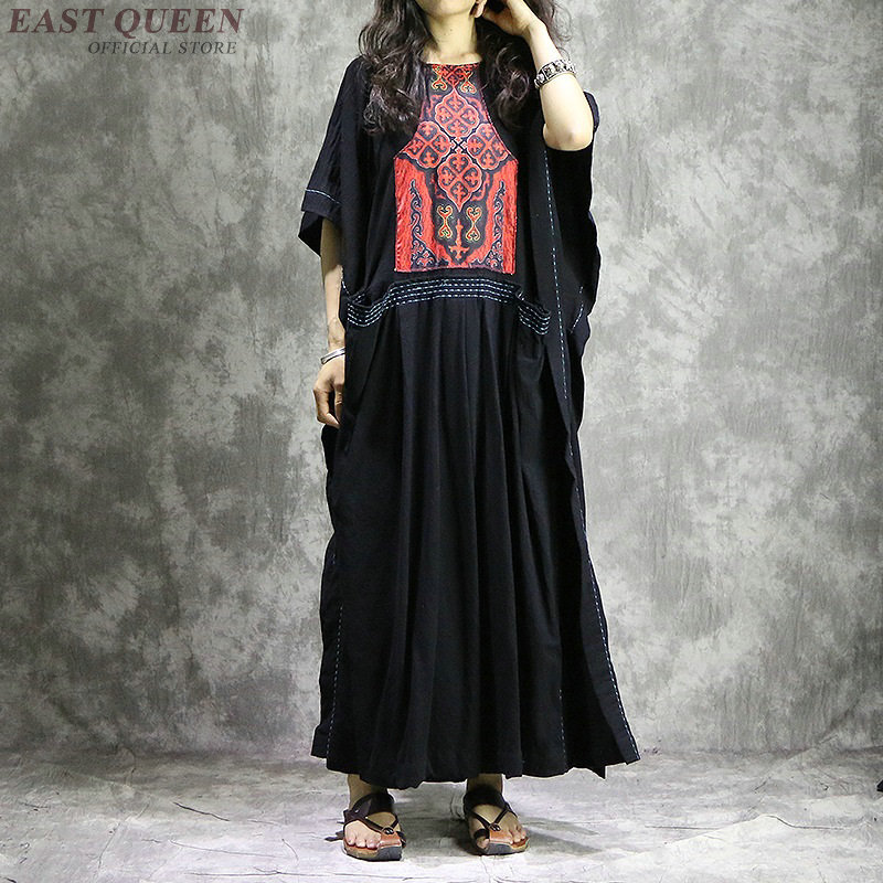 Boho women chic mexican hippie ethnic style dress clothing bohemian holiday vacation female sexy folk dresses
