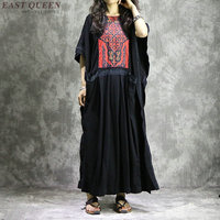 Boho women chic mexican hippie ethnic style dress clothing bohemian holiday vacation female sexy folk dresses AA4075