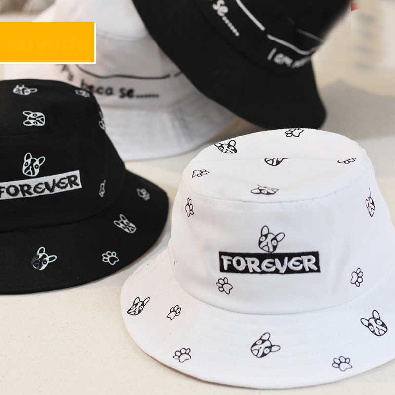 a05847f6afc0ca ... Panama Unisex Fashion Bucket Hat Bob Caps Hip Hop Gorro Boys Girls  Summer Cap Kids Beach