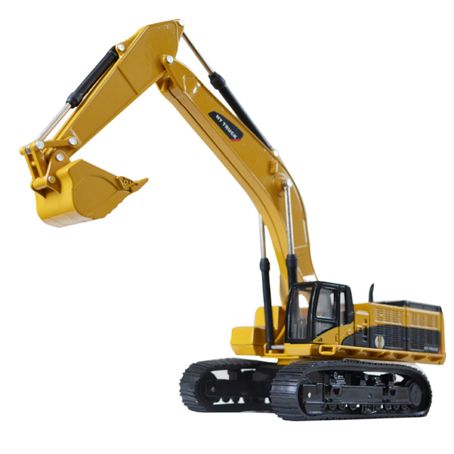 Huayi the whole alloy navvies crane engineering car transport vehicle mixer truck road roller toy