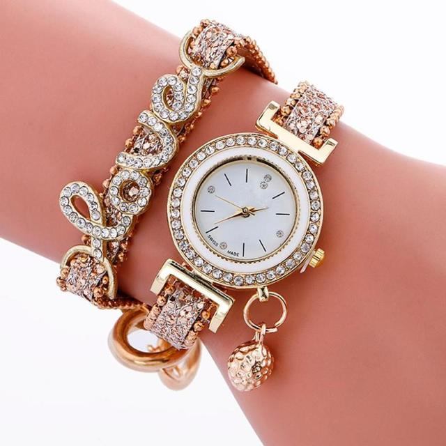 Fashion Luxury Brand New Women Stylish Simplicity Weave Bracelet Watch Pu Leathe
