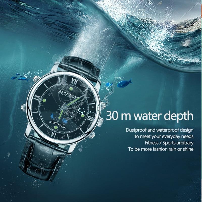 Waterproof A7 Smart Watch Bluetooth Waterproof Health Monitor Noctilucent man reloj sport font b Smartwatch b